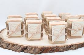25 Bridal Shower Soap Favors Rustic Handmade Custom Wedding Favours On Etsy