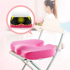 Orthopedic Office Chair Cushions by Rosy Coccyx Orthopedic Memory Foam Home Office Chair Seat Cushion