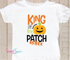 Caledonia Pumpkin Patch by Pumpkin Patch Shirt King Of The Patch Shirt Baby Boy Bodysuit