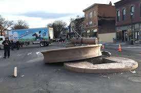 Geneseo's Bear Fountain Heavily Damaged In Truck Crash 2 Fwy Reopened After Milk Tanker Involved In Multicar Crash Milk Truck Wreck Newport News Injures Two Virginia Tanker Accident Near Hwy 8132 Junction Columbus Team Divco Model 200b Refrigerated Whole Salvage Parts Tractor Trailer Wreck Kills One Slows Traffic On I95 Motorway Covered Melted Chocolate Truck Hit Central Kamc Twitter A Crashed This Afternoon Near Early Devco Trucks Pinterest Cars And I69 Reopens Of Two Semitrucks Local Navigating The Highway During Peak Stuffconz