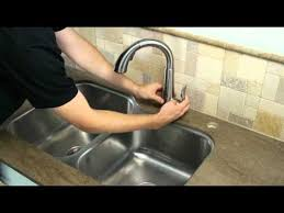 pfister 1 handle pull down kitchen faucet installation howto