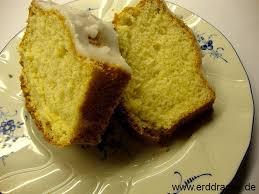 zitronenkuchen ohne fett mit zuckerguss erddrache