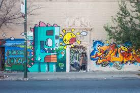 Famous Graffiti Mural Artists by In Chicago Graffiti Comes As Public Art Precedes Major