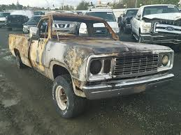 1973 Dodge Pickup - Burn Damage - W14AE3S209609 (Sold)