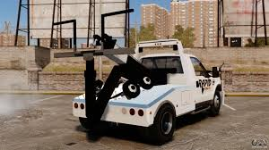 100 Gta 4 Tow Truck Ford F550 Truck Rapid Ing ELS For GTA