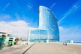 100 Ricardo Bofill BARCELONA SPAIN OCTOBER 02 2017 W Barcelona Or Hotel Vela