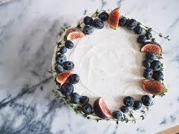 Earl Grey Lemon Curd Cake