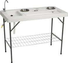Fish Cleaning Station With Sink by Stainless Steel Fish Cleaning Table With Sink Best Sink 2017