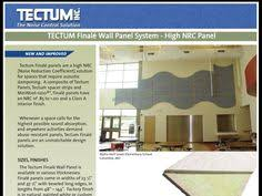 Tectum V Line Ceiling Panels by Tectum V Line Interior Wall Panels Attach Directly For A