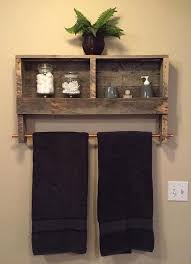 12 DIY Pallet Projects For Your Home Improvement Towel RackTowel