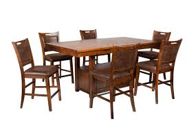 Arizona Adjustable Pub Table + 6 Stools
