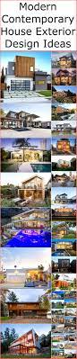 100 Modern Contemporary Design Ideas House Exterior DIY Motive