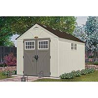 lifetime 15 x 8 dual entry outdoor storage shed outdoor