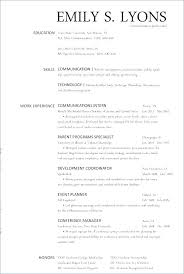 Resume Examples For Food Service Waiter Hospital Manager