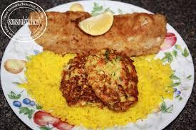 recette de cuisine avec du poisson poisson pané et beignets lègumes sousoukitchen