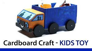 100 Best Toy Trucks How To Make A Cardboard Kids Truck With Waste Material