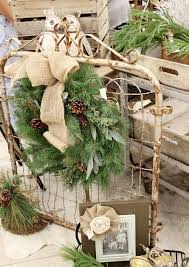 40 Comfy Rustic Outdoor Christmas Decor Ideas Interior