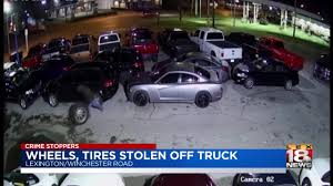 100 Two Men And A Truck Lexington Ky Crime Stoppers Tires Stolen From In Dealer Parking Lot