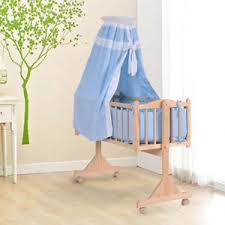 Wooden Swinging Crib