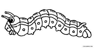 Shining Design Caterpillar Coloring Pages Printable For Kids