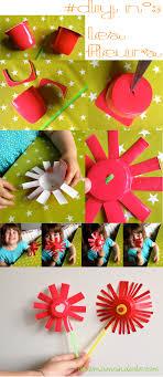 pot de yaourt recyclable diy fleurs pot de yaourt jpg 2030 4678 idées déco et amuses