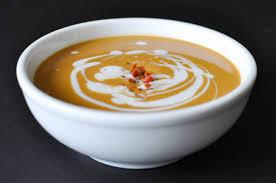 Pumpkin Bisque Recipe Vegan by Creamy Paleo Bacon Pumpkin Soup Fed U0026 Fit
