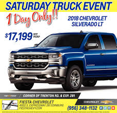 Saturday Truck Event!, Fiesta Chevrolet, Edinburg, TX Mcallen Tx Cars For Sale Autocom Buick Chevrolet Gmc Dealership Weslaco Used Payne Truck Driving School Tx Fraud And Scam Sightings Locations Semi Trucks For 2009 Freightliner Business Class M2 106 Mcallen 121933008 2019 Ford Mustang Gt In Edinburg Specials Incentives Ram Sterling L7500 5002174678 Equipmenttradercom Cat D7f Dozer Specs Texas 2007 Intertional 4400 How A Plumbers Truck Wound Up Is Hands