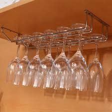 Under Cabinet Stemware Rack Uk by Wine Glass Hanging Rack Canada U2013 There Wind