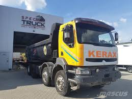Renault Kerax 400, GERMAN TRUCK MANUAL PUMP, FULL STEEL,_tipper ...