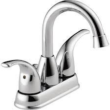 Peerless by Shop Peerless Tempo Chrome 2 Handle 4 In Centerset Bathroom Sink