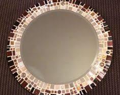 Brown Mosaic Bathroom Mirror by Travertine Mosaic Oval Bathroom Mirror Katon Long I Could See