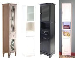 Narrow Bath Floor Cabinet by Lunar Tall Bathroom Floor Cabinet Unit U2013 Luannoe Me