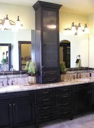 Bathroom Vanity And Tower Set by Vanity Towers Take Bathroom Storage To New Heights