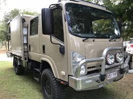 2008 Isuzu Nps 4x4 Camper Truck - Www.just4x4s.com.au