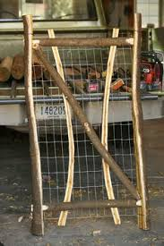 Building A Rustic Front Yard Gate