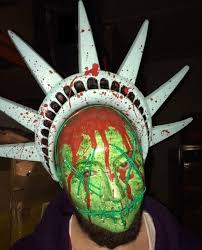 The Purge Halloween Mask Ebay by The Purge 3 Mask Halloween Fancy Dress Light Up Statue Of Liberty