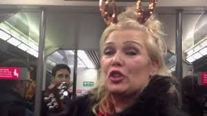 Kim Wilde Rockin Around The Christmas Tree by Kim Wilde Singing On Train Goes Viral