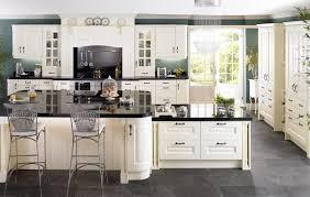 Covering Asbestos Floor Tiles Basement by Cream Kitchen With Black Floor Tiles Tiles Flooring
