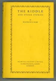 THE RIDDLE AND OTHER STORIES