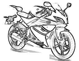 Download Motorcycle Coloring Pages 12 Print
