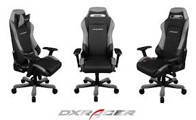Dxracer Big & Tall Executive Chair IF11 Series $449 Black ...