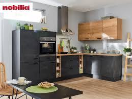 l küche 305 x 275 cm matt schwarzbeton speed