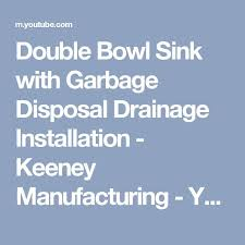Garbage Disposal Backing Up Into Both Sinks by Best 25 Garbage Disposal Installation Ideas On Pinterest