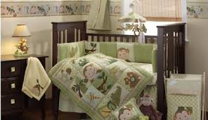 Sock Monkey Crib Bedding by Monkey Baby Bedding