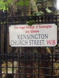 100 Kensington Church London KENSINGTON CHURCH STREET Unrepentant Anglophile England