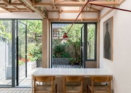 100 Terraced House Design Archmongers Revamps 1960s London Terrace With Glazed Tiles