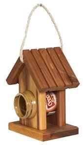 Squirrel Feeder Adirondack Chair by Amish Cedar Peanut Butter Bird Feeder