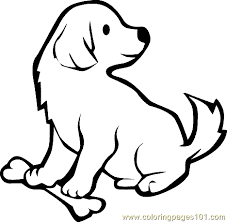 Dog Puppy Coloring Page 23