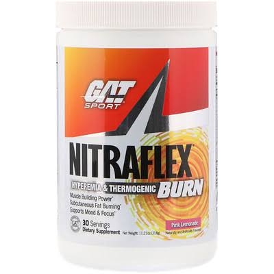 GAT Nitraflex Burn Pink Lemonade - 30 Servings