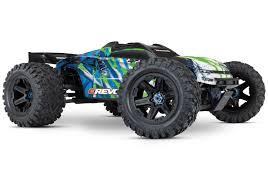 100 Monster Truck Engines Traxxas ERevo VXL Brushless 110 4WD With TQi Link